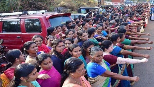 La actividad fue promovida por el ministro principal de Kerala, Pinarayi Vijayan, quien llamó a promover la igualdad de género y dejar la ideología de la sociedad patriarcal.