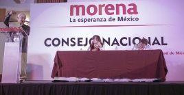 La presidenta del Comité Ejecutivo Nacional de Morena denuncia que solo en 2018 fueron asesinados 14  integrantes de este partido político.