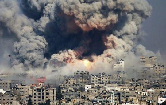 Las fuerzas militares de Israel lanzaron más de mil misiles hacia la Franja de Gaza y Cisjordania en 2018.