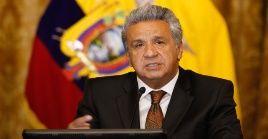 El presidente Moreno hizo un llamado a los medios de comunicación a ser responsables con la información.