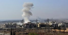 Alepo ha sido atacada reiteradamente por grupos rebeldes al presidente Bashar al Assad.