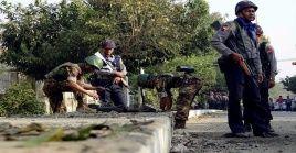 La incursión armada de los insurgentes coincidió con el 71 aniversario de la independencia del país.