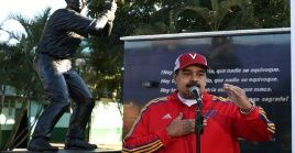 """""""Quieren dividir a Venezuela para tomar el poder y repartírsela en pedazos"""", denunció Nicolás Maduro."""