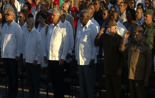 Cerca de 5.000 personas acudieron al acto realizado en La Habana.
