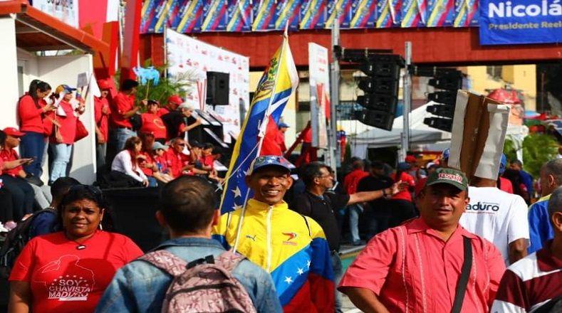 Los venezolanos tendrán un encuentro con el presidente tras el acto de juramentación.