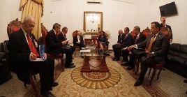 La vicepresidenta de Venezuela se reunió con su homólogo turco para tratar temas de cooperación entre ambas naciones.