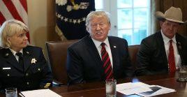 """""""Lo que no estamos buscando hacer ahora mismo es declarar una emergencia nacional. No lo voy a hacer tan rápido"""", sostuvo el presidente."""