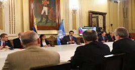 """""""Ojalá la ONU pueda ayudar a crear las condiciones para un gran diálogo de paz en Venezuela"""", señaló el Jefe de Estado."""