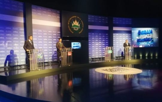 El debate fue organizado por la Asociación Salvadoreña de Radiodifusores (ASDER) y la Asociación de Universidades Privadas de El Salvador (AUPRIDES).