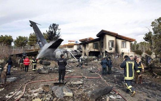 El accidente ocurrió cerca del aeropuerto Fath, al oeste de la capital iraní, Teherán, según informa la agencia de noticias Fars.