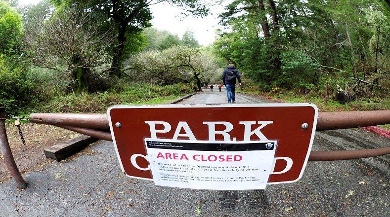 Los parques nacionales y otros sitios de interés, en ciudades como Washington D.C., se encuentran cerrados desde el inicio del cierre parcial.