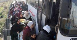 Según el Centro de Inmigración del cruce deNassib, unos 7.000 sirios han retornado a su país desde Jordania.