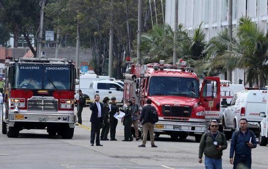 Según la Fiscalía, el agresor ingresó al recinto a bordo de una camioneta cargada con 80 kilogramos de pentolita.