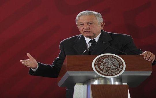 El mandatario mexicano reiteró el compromiso del Gobierno para con las familias de las víctimas de la explosión