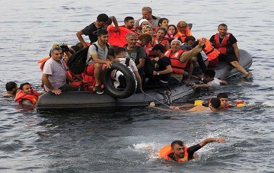 Según la OIM en el 2018 murieron o desaparecieron alrededor de cuatro mil  refugiados en el mar Mediterráneo.