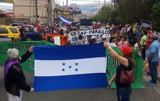 Los hondureños denunciaron la corrupción en el Gobierno de Juan Orlando Hernández.