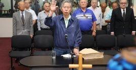 El dictador peruano Alberto Fujimori debe ser trasladado al recinto penitenciario en las próximas 24 horas.