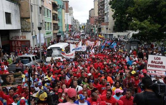 Los simpatizantes del chavismose concentrarán con la finalidad de defender la soberanía en el país, según anunciaron sus dirigentes.