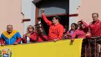 Desde el Palacio de Miraflores, el Presidente se dirigió al pueblo venezolano y llamó a defender la paz de la República.