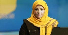 Familiares de la periodista Marzie Hashemi indicaron que ella permanecerá en Washington (capital) para participar en una marcha contra su detención.