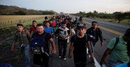 Miles de migrantes centroamericanos han contado con la atención del Estado mexicano.