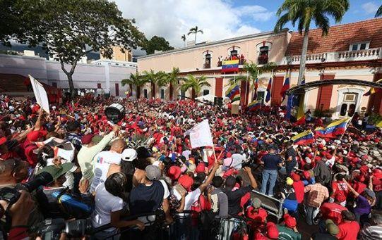 Presidente Nicolás Maduro es respaldado por gran parte del pueblo venezolano.