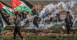 Unos 254 palestinos han muertoy más de 23.600 fueron heridosdesde el inicio de la Gran Marcha del Retorno, el 30 demarzo de 2018.