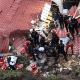 El incidente ocurrió este sábado en horas de la noche y las autoridades se encuentran trabajando para rescatar a las personas que se encuentran bajo los escombros.
