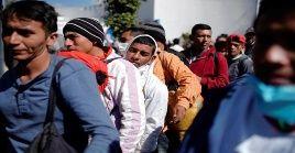 El Gobierno mexicano ha expedido más de 8 mil permisos humanitarios a los migrantes centroamericanos