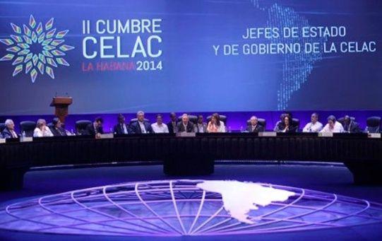 Jefes de estado de la Celac proclaman la región como zona de paz.