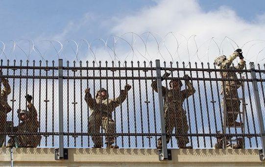 Desde noviembre EE.UU. ha enviado soldados a la frontera con México.