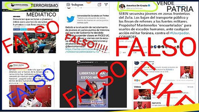Resultado de imagen para venezuela fake news