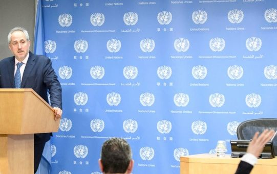 El portavoz del secretario general ratificó la postura del organismo internacional.
