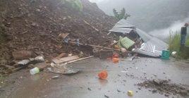 Las autoridades bolivianas decretaron la alerta en la región ante la posibilidad de nuevos deslizamientos de tierra.