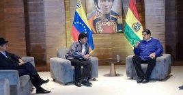 Evo Morales ha denunciado a nivel internacional los planes de EE.UU. contra el Gobierno venezolano.