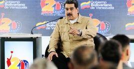 """El presidente definió el último comunicado del Grupo de Lima como """"asqueroso y risible""""."""