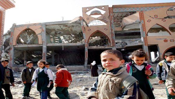 Según la ONU, Israel justifica sus ataques en el combate de gruposrebeldes cercanos a las escuelas, pero no han mostrado pruebas de ello.