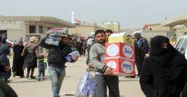 Otros 300 civiles desplazados regresaron a sus hogares desde el sureste de de la provincia siria de Deir Ezzor.