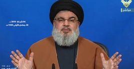 Nasrallahreconoció la labor y el compromiso del Gobierno iraní con los países del Medio Oriente.