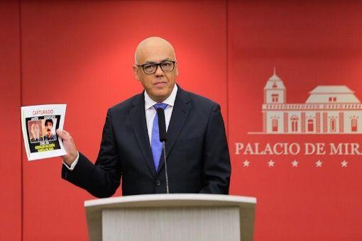 """""""Julio Borges sabía que Oswaldo Valentín García Palomo planificaría un atentado en Venezuela"""", denunció Jorge Rodríguez."""