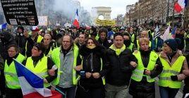 La persevarancia y unidad del movimiento los han hecho tener réplicas de organizaciones similares en otros países. Ya hay chalecos amarillos en varios lugares de Europa.
