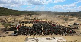 Los ejercicios cívico militares de este año son considerados como los más importantes de la historia del país.
