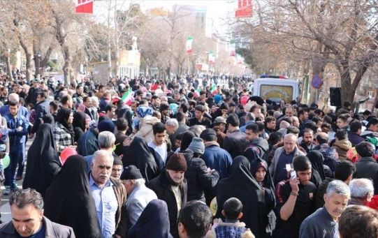 Más de 1.000 ciudades y 5.000 pueblos sirven de escenario para la marcha anual de los iraníes.