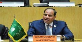 """El presidente de Egipto, Abdulfatah al Sisi, destacó que el organismo continuará """"cumpliendo las expectativas de los africanos""""."""