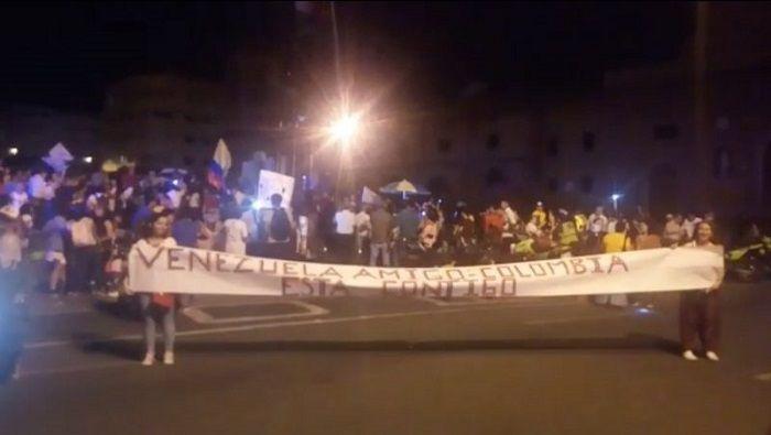Organizaciones de Colombia exigen a países europeos que desistan de sus acciones intervencionistas en Venezuela.