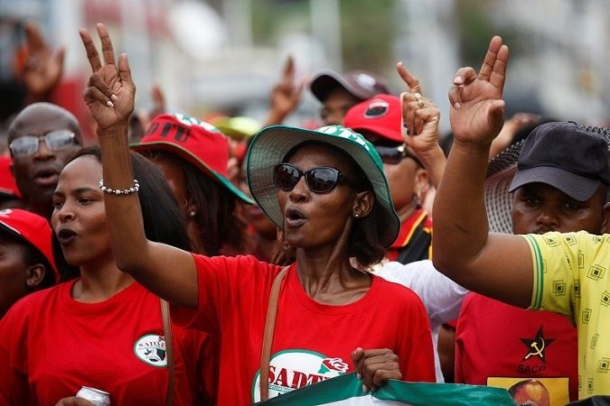 South African Unions Stage National Strike Against Job Losses