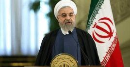 """""""Si Irán se rinde ante Estados Unidos, perderá su dignidad y soberanía"""", aseguró Rohani."""