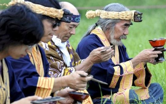 According to a 2017 survey, the Ainu population is estimated to be 12,300 - a decrease from 25,000 in the 2000s.
