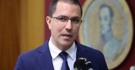 """This is a propaganda operation by the media, to create the conditions for an intervention,"" said Arreaza."