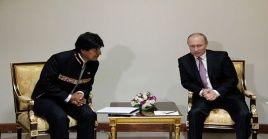 Bolivia y Rusia mantienen importantes acuerdos en el campo energético, comercial, científico y en el ámbito de seguridad, entre otros.